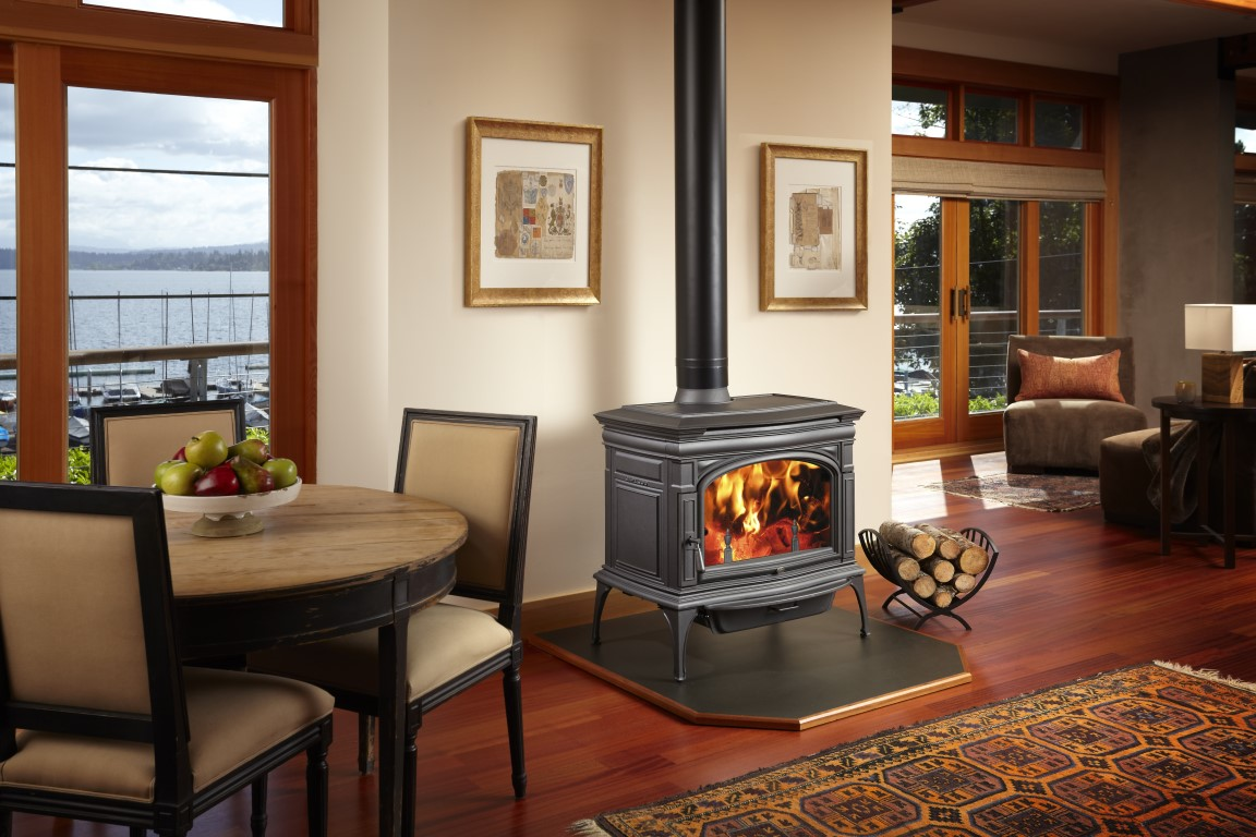 Wood Stove Living Room Design Home Sackett Fireplace