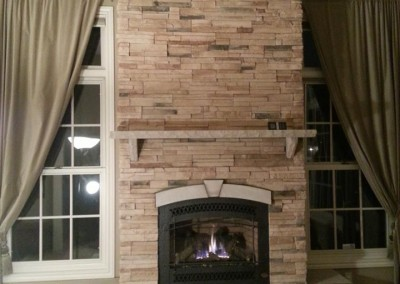 Fireplace mantel 2